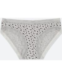 Uniqlo - Women Dot-print Bikini - Lyst