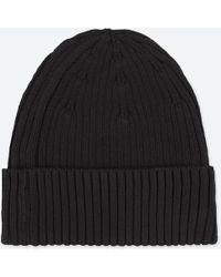Uniqlo - Rib Beanie Hat - Lyst