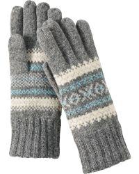Uniqlo | Women Idlf Jacquard Knit Gloves | Lyst
