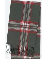 Uniqlo - Cashmere Checked Scarf - Lyst
