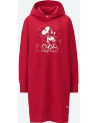 Uniqlo - Women Mickey Art Sweat Long-sleeve Dress (andy Warhol) - Lyst