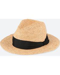 Uniqlo - Women Raffia Hat - Lyst