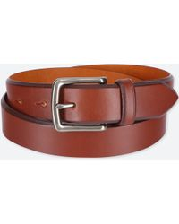 Uniqlo - Men Italian Saddle Leather Belt - Lyst