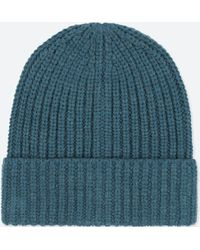 b732ece2748 Lyst - Uniqlo Men Heattech Knitted Cap in Natural for Men
