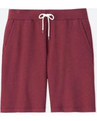 Uniqlo - Men Jersey Easy Shorts - Lyst