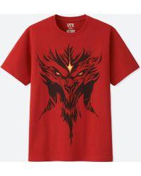 Uniqlo - Blizzard Short-sleeve Graphic T-shirt (diablo) - Lyst