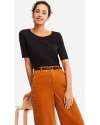 Uniqlo - Women Extra Fine Merino Half-sleeve Sweater - Lyst