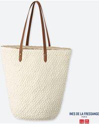 3563315a8c Uniqlo - Women Crochet Tote Bag (ines De La Fressange) - Lyst