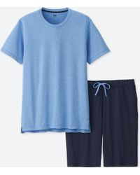 Uniqlo - Men Airism Lounge Set - Lyst