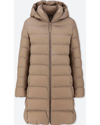 Uniqlo - Ultra Light Down Hooded Coat - Lyst