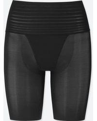 Uniqlo - Women Body Shaper Non-lined Smooth Half Shorts - Lyst
