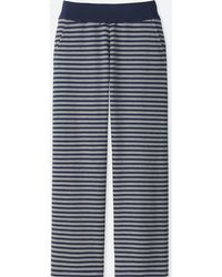 Uniqlo - Women Ultra Stretch Stripe Lounge Pants - Lyst
