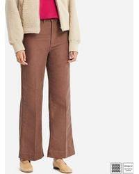 Uniqlo - Women U High-rise Wide Jeans - Lyst