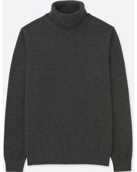 Uniqlo - Men Cashmere Turtleneck Long-sleeve Sweater - Lyst