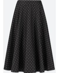Uniqlo - Polka Dot Circle Skirt - Lyst