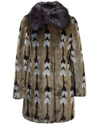 Unreal Fur - Reflections Coat - Lyst
