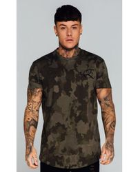 Enuki London - Murky Camo T-shirt - Lyst