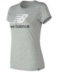 New Balance - Women's Logo T-shirt - Lyst