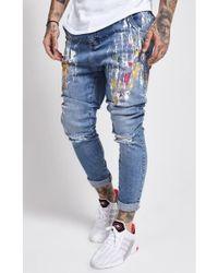 SIKSILK - Retreat Drop Crotch Jeans - Lyst