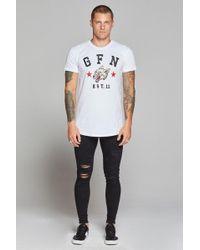 1262f965ec58b3 Undercover Wolf T-shirt in White for Men - Lyst