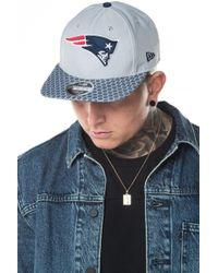 KTZ - New England Patriots 2017 Sideline Of 9fifty Snapback - Lyst e71b50d789d1