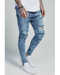 SIKSILK - Shotgun Hareem Jeans - Lyst