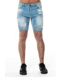 11 Degrees - Destrukt Shorts - Lyst