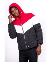Sixth June - Colour-block Hooded Puffer Jacket - Lyst