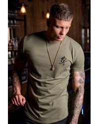 01c312050 Gym King Roll Sleeve T-shirt for Men - Lyst