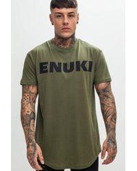 Enuki London - Brand Carrier T-shirt - Lyst