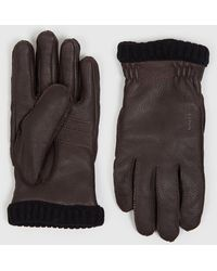 Hestra - Deerskin Primaloft Rib Gloves - Lyst