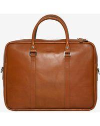 Sandqvist - Robin Laptop Leather Bag - Lyst