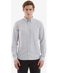Norse Projects - Anton Oxford Fine Stripe Shirt - Lyst