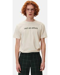 WOOD WOOD - Out Of Office T-shirt - Lyst