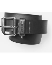 Carhartt - Script Leather Belt - Lyst
