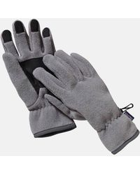 Patagonia - Synch Gloves (fleece) - Lyst