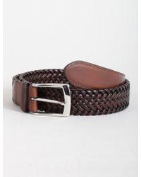 Dents | Plaited Leather Belt | Lyst