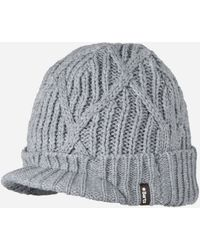 c0d568c31d7 Lyst - Nike Regional Swoosh Peaked Beanie Hat in Blue for Men