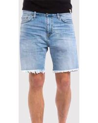 4e7a2bd4f BOSS Rice Open Shorts in Gray for Men - Lyst
