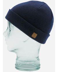 Coal - Harbor Cuffed Beanie Hat - Lyst