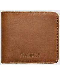Sandqvist - Bill Bi-fold Wallet (leather) - Lyst