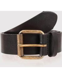 Dents | Casual Waxed Leather Belt | Lyst
