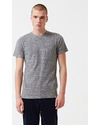 Norse Projects - Niels Japanese Pocket T-shirt - Lyst