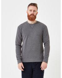Edwin - Long Sleeve Waffle Knit T-shirt - Lyst
