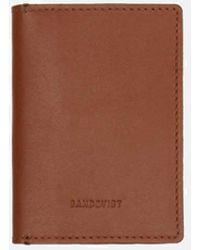 Sandqvist - Dow Slim Bi-fold Wallet (leather) - Lyst