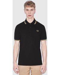Fred Perry - Re-issues Twin Tipped Polo Shirt (made In Uk) - Lyst