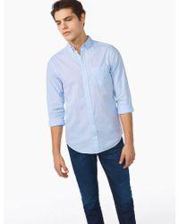 Gant Rugger - Solid Cotton Linen Shirt - Lyst