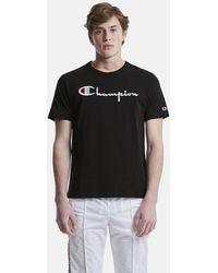Champion - Classic Jersey Script T-shirt - Lyst