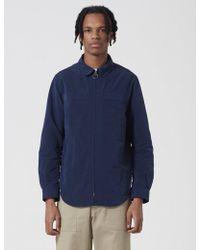 Barbour - Hoad Zip Overshirt - Lyst