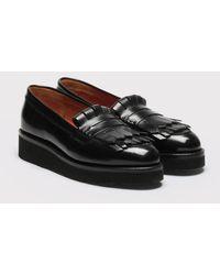 20086f65281 Lyst - Grenson Ashley Penny Loafer in Black for Men